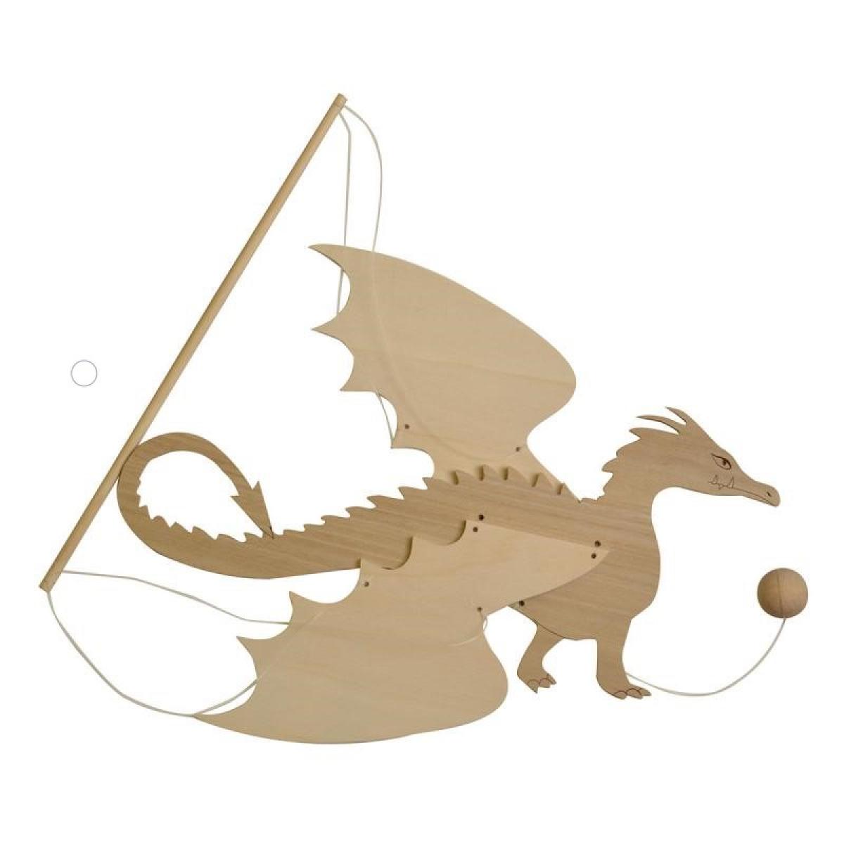 Animals Wooden Dragon Mobile The Shop Rotin Filé
