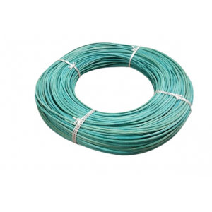 Moelle rotin turquoise 3 mm en couronne 250 g