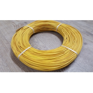 Rattan colour yellow 2.5 mm in coil 250 g