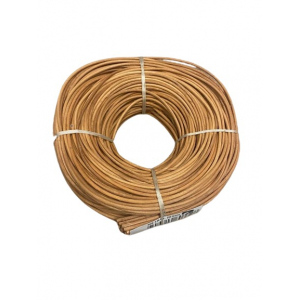 Moelle rotin chocolat 2 mm couronne 250 g