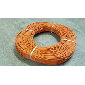 Moelle de rotin orange 3 mm en couronne 250 g