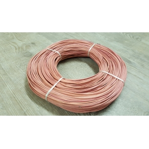 Rattan colour pastel pink 2.5 mm in coil 250 g