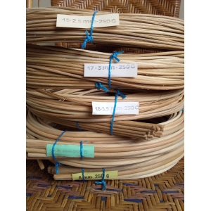 Rattan core 2nd quality 6 mm in coil 250 g