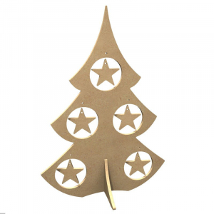 Fir tree with star 38 cm