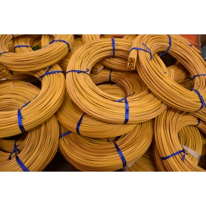 Moelle rotin jaune pastel 2.5 mm couronne 250g
