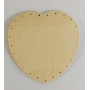 BOTTOM HEART 16/16 CM PLYWOOD