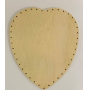 BOTTOM HEART 23/26 CM PLYWOOD
