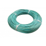 Moelle rotin turquoise 2 mm en couronne 250 g