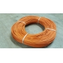 Moelle rotin orange 1.5 mm en couronne 250 g