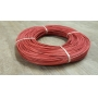 Rattan colour red 2 mm in coil 250 g