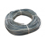 Flat oval rattan core blue in coil 250 g