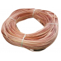 Flat oval rattan core pastel pink in coil 250 g