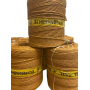 "Paper yarn ""ocre foncé"" in roll 6 or 8 kg about"