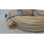 Flat oval rattan core 1 st quality 4 mm coil 250 g