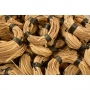 Rattan peel 2 st quality shaven  coil 500 gr